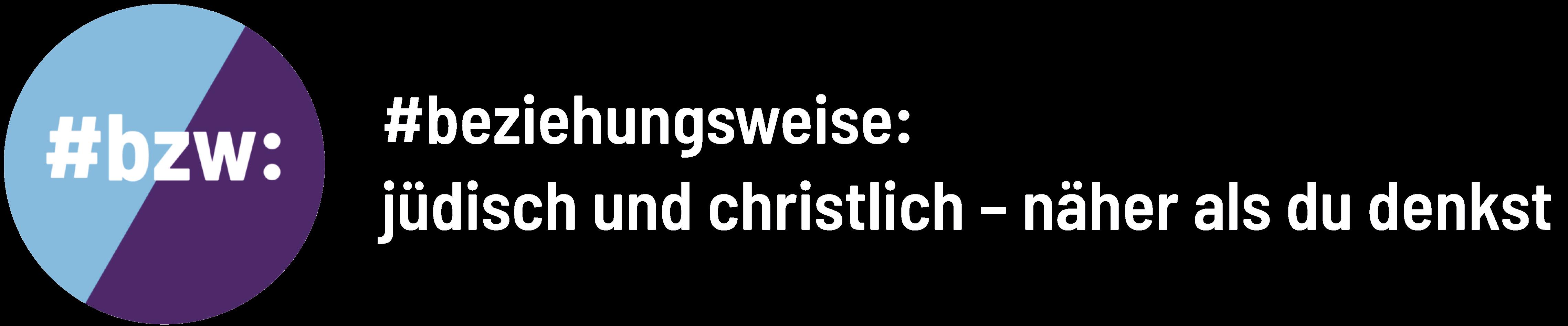 #jüdisch – beziehungsweise – christlich